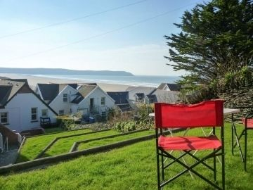 North Devon Holiday Cottage Far reaching sea views from the garden