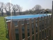North Devon Holiday Cottage Outdoor pool